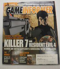 Gameinformer Magazine Killer 7 And Resident Evil 4 No.131 March 2004 081215R