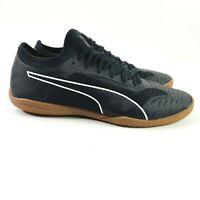 Puma 365 Sala 1 Men's Size 11 US Black/White/Gum - Indoor Soccer Shoes NwoT