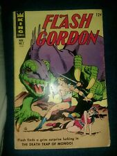 FLASH GORDON #2 (1966) King features Comics 2nd silver age appearance 1st print