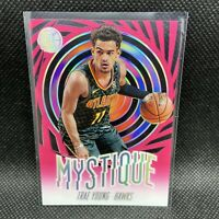 Trae Young Atlanta Hawks 2019-20 Illusions Mystique Insert Pink Rare #16 NBA