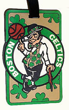 Boston Celtics Rubber Luggage Bag Tag ID Travel Tag NBA