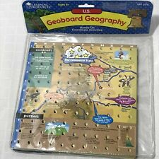 Learning Resources 2378 Geoboard Geography 50 States