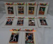 LOT OF 10 TOYS R US MASTER PHOTO BASEBALL CARDS 1993 TOPPS 5 X 7