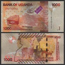 Uganda 1000 SHILLINGS 2015 P 49c UNC