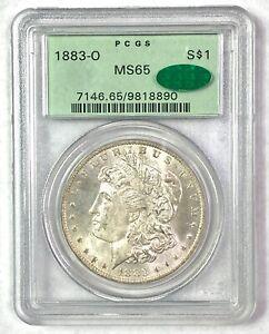 1883-O Morgan Silver Dollar - PCGS MS65 - CAC OGH