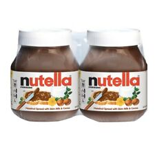 Nutella Ferrero Hazelnut Spread 2 Pack 4.2 lbs 67 Oz ^^FAST SHIPPING^^