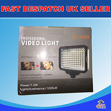Universal On-Camera Professional LED video light DSLR Camcorder Nikon Canon Sony