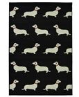 """Maestro Area Rug Featuring Small Dogs 120cm X 170cm (4ft X 5ft 6"""")"""