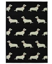 "Maestro Area Rug Featuring Small Dogs 120cm X 170cm (4ft X 5ft 6"")"