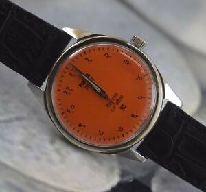 Vintage HMT Janata 17Jewels Winding Working Wrist Watch For Men's Wear B-1812