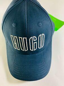 BNWT Brand New Hugo Boss Navy Baseball Cap-Hat With Tags