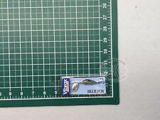 Blue Fox Vibrax Minnow Spin Silver 1/8 oz. Fishing Lure 68-20-623IC