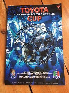 2004 TOYOTA WORLD CLUB FINAL:- FC Porto V Once Caldas. (Excellent)