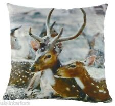 """17 """" 43cm Bambi cerf velours Coussin - Evans Lichfield dp731"""