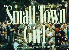 35mm FILM TRAILER: SMALL TOWN GIRL (1953)