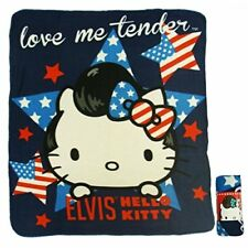 Plaid Hello Kitty Elvis 120x140