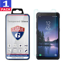 """(1 Pack) GLASAVE Samsung Galaxy """"S8 Active"""" G892 Tempered Glass Screen Protector"""
