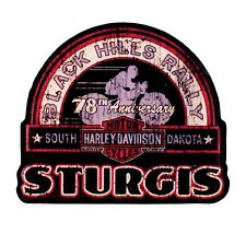 Sturgis Harley-Davidson® 2018 BHR Label 78th Rally Pin