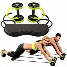 Muscolo Eserzio Equipment Casa Fitness Equipment Doppio Ruota Addominali Potenza