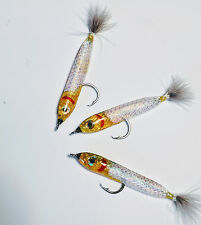 3PK SHIMMER SARDINE      Size 1/0 Circle Hook    Approximately 3 1/2 Inches Long