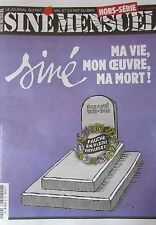 SINé MENSUEL HORS SERIE No 4  MAI 2016 SINE MA VIE MON OEUVRE MA MORT COLLECTOR