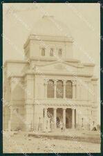 Roma Città Judaica Jewish Synagogue Real Photo postcard KF0562