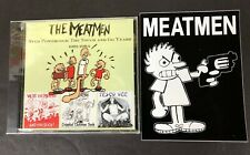 THE MEATMEN STUD POWERCOCK CD PLUS A STICKER SEALED/NEW SIGNED BY TESCO UPON REQ