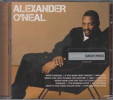 Icon by Alexander O'Neal (CD, Jan-2011, US Universal) NEW SS