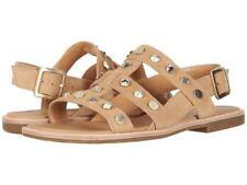 1ea2720bb2f UGG Australia Zariah Studded Bling Latte Soft Suede Leather Gladiator Sandal  9