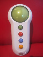 Xbox 360 SCENE IT WIRELESS BUZZER Big Button Pad Green Microsoft IR Controller