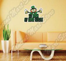 "So Irish Leprechaun St. Patrick Day Ireland Wall Sticker Room Interior Decor 22"""