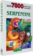 Serpentine - Atari 7800 HomebrewGame - New!