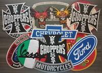 Large Size Logo Big Motorsport Racing car Motorcycle patch Iron or sew on jacket
