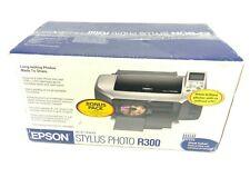 Epson Stylus Photo R300 Digital Photo Inkjet Printer New