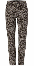 CABI NEW ANIMAL PRINT KNIT PANT .