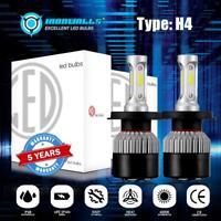 2x H4 HB2 9003 270000LM 1800W LED Headlight Kit Hi/Lo Beam Bulb High Power 6000K