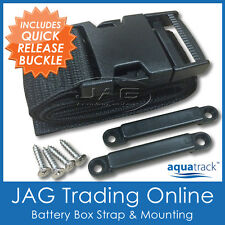 AQUATRACK BATTERY TIE DOWN STRAP - Boat/Marine/Caravan/Fuel Tank/Hold/Box Holder