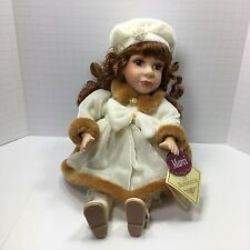Animated Wind Up Musical Porcelain Bisque Doll