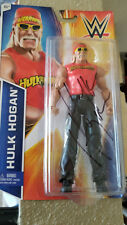 2014 MATTEL HULK HOGAN SIGNED AUTO WRESTLING FIGURE WWF WWE NWO WCW HOF MIP