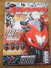 MOTO MOTARDS 111 SUZUKI HAYABUSA BUELL DUCATI 1098S 600 750 1000 SCORPION EXO