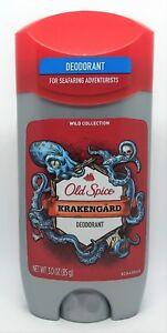 Old Spice Wild Collection Krakengard Deodorant 3 oz