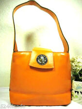 Vintage CELINE Orage Leather Small Tote Shoulder Bag Italy