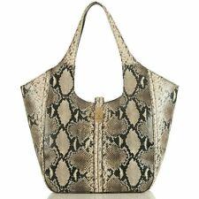 Brahmin CARLA FELIX Caviar Leather Bag shoulder Purse Tote New