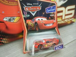 RARE NEW SEALED BUG MOUTH MCQUEEN DISNEY SUPERCHARGED CARS METAL DIECAST CAR