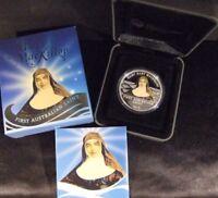 💰2010 Australian Saint Mary MacKillop 1 oz Silver Proof**💰
