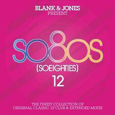BLANK & JONES  Present So80s [So Eighties] 12 ( Album 2019 ) 2 CD  NEU & OVP