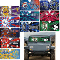 Official Licensed Universal NBA Basketball Team Logo Windshield Sun Shade