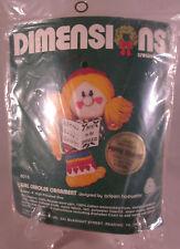 Dimensions Crewel Ornament Kit Girl Caroler Christmas 8015