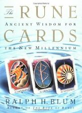 The Runecards: Ancient Wisdom for the New Millenium by Blum, Ralph Hardback The