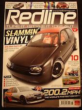 Redline Mag June 2008 Rx-7, Ultimate Dubs, supra, Reyland escort, mk4 golf 1.8T